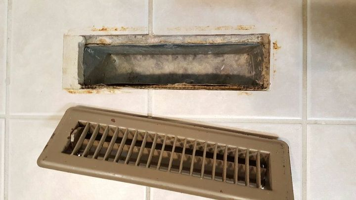 Fabulous How To Easily Transform Old Floor Vents To Brand New | Hometalk WK68
