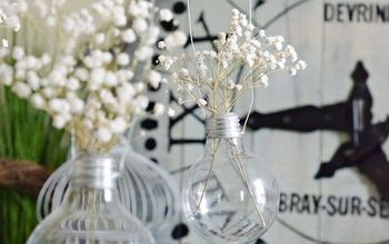 upcycled burnt out light bulbs, how to, lighting, repurposing upcycling