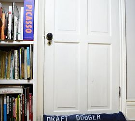 upcycled denim draught excluders door and window  crafts doors repurposing upcycling & Upcycled Denim Draught Excluders (door and Window) | Hometalk