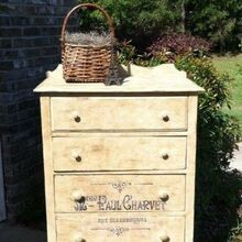 country french dresser, painted furniture, Country French Dresser