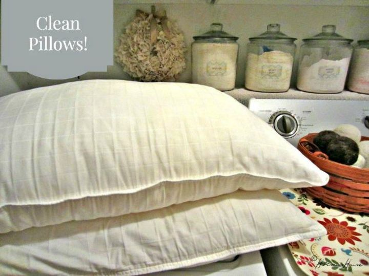 s sleep better at night with these 9 cleaning bed hacks, cleaning tips, 1 Test your pillows to see if they re good