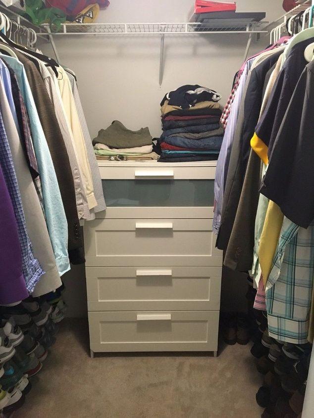 q closet revamp , closet, organizing, shelving ideas, storage ideas