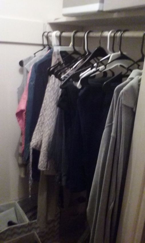 q ideas and thoughts helpful in making this better, closet, organizing