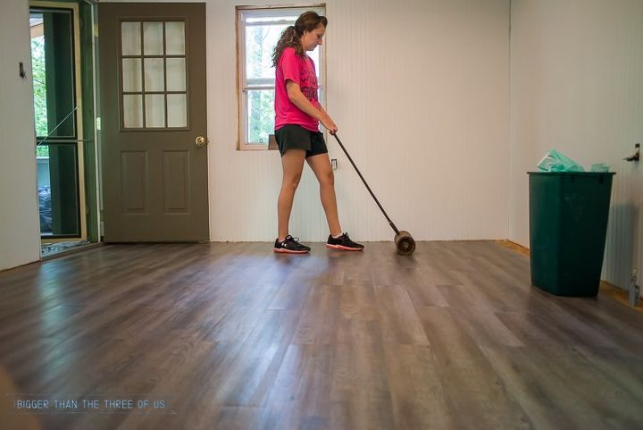 how to install laminate flooring in just 3 hours , flooring, how to, outdoor living