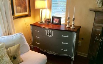 Painted Furniture----A 1940's Beauty's Transformation!