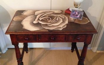 Tough Weekend Produces a Stunning Stained Table