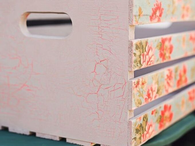 how to give your furniture a crackle finish, home decor, how to, painted furniture, painting, rustic furniture