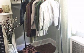 mobile coat closet, closet