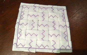 cute coaster from piping, crafts, home decor, how to