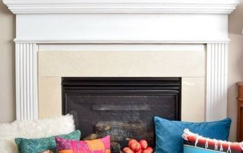 Creating A Cozy Global, Eclectic Fall Hearth