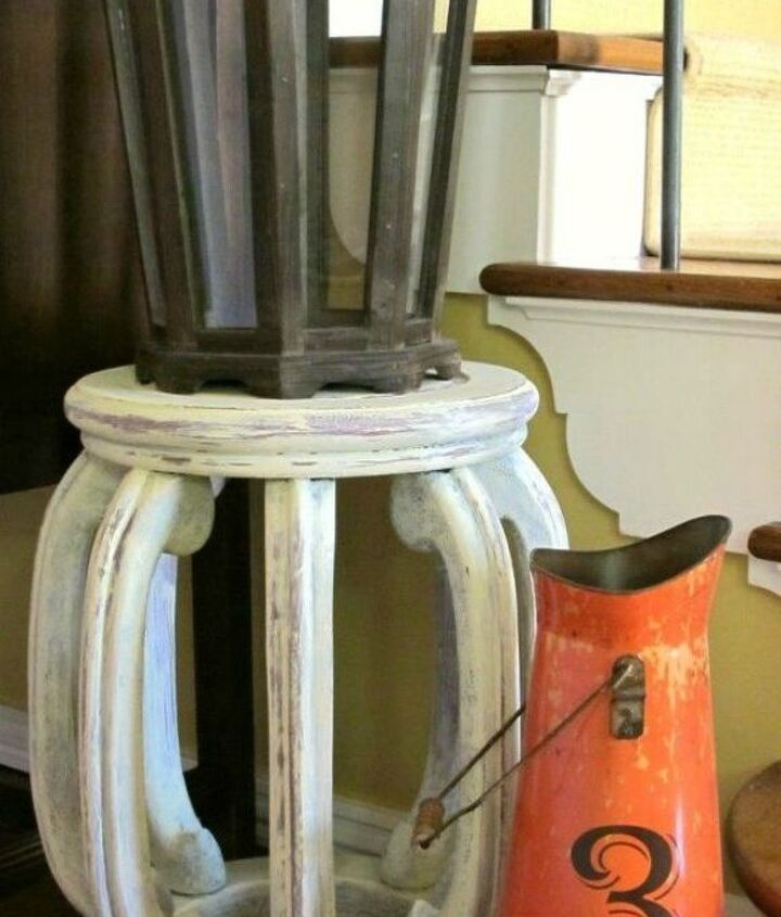 s 10 unexpected ways to use leftover paint, Give your stool a vintage vibe