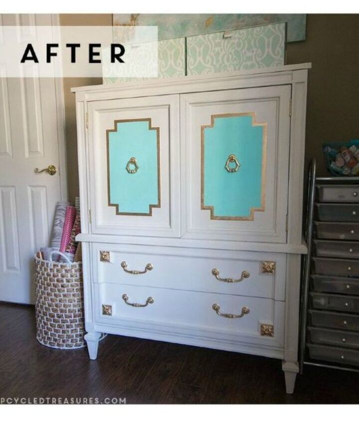 s 10 unexpected ways to use leftover paint, Add some colorful accents to your furniture