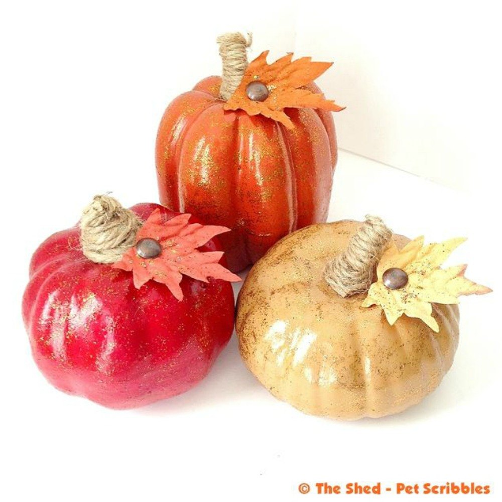 How to store pumpkins - Dress Them In Monochromatic Tones