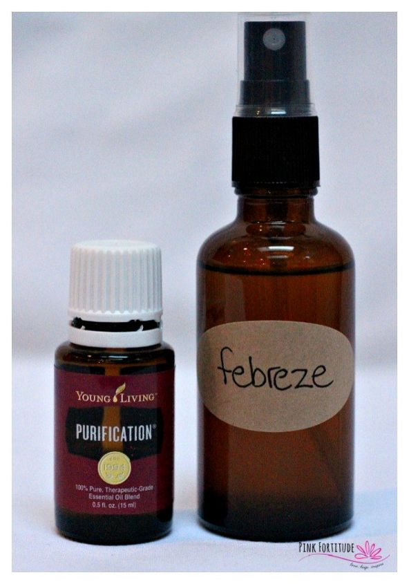 homemade febreze how to make a non toxic version, go green, house cleaning,