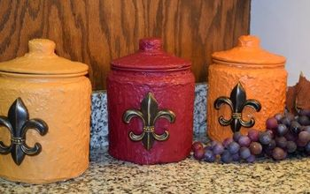 Old World Style Fall Kitchen Canisters