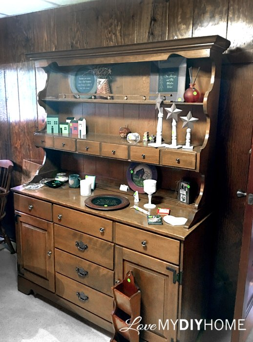 Por Ethan Allen China Cabinet Gets A Split Personality Hometalk Cr97