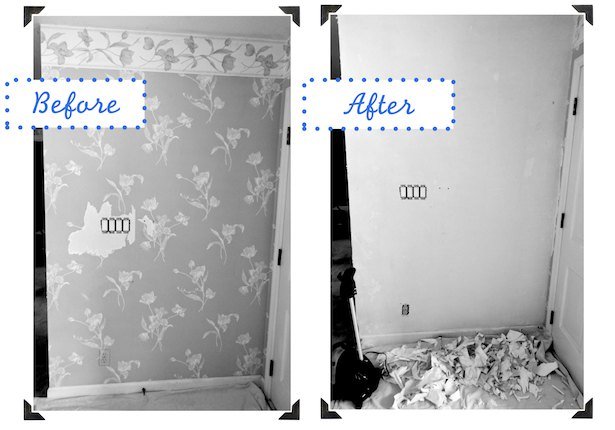 liberate your walls wallpaper removal tips, wall decor