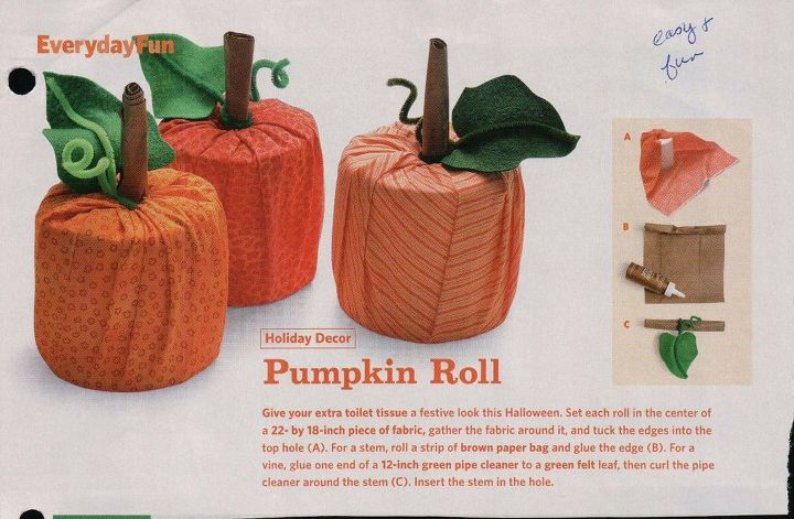 easy fabric pumpkins , crafts, seasonal holiday decor, reupholster