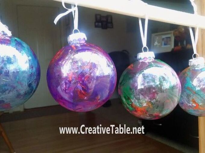 diy christmas ornaments a little spit makes these fabulous, christmas decorations, seasonal holiday decor