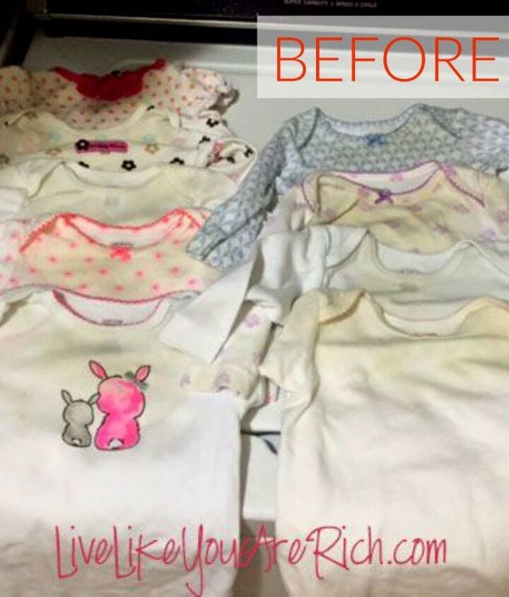 s the ultimate list of brilliant stain removal tricks, The stain Dried up spit up and drool