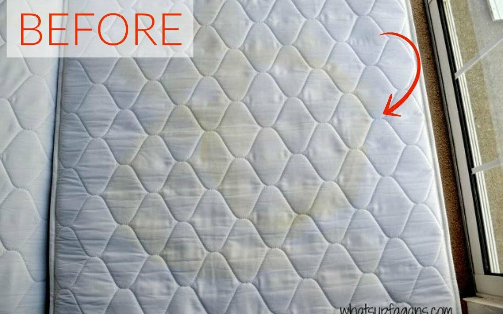 s the ultimate list of brilliant stain removal tricks, The stain Pee stains on a mattress