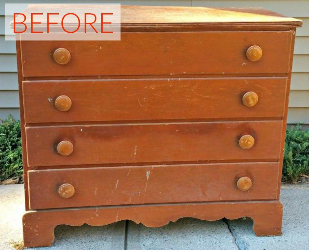 Painted Tv Armoire