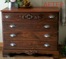 After: A Classy And Elegant Dresser