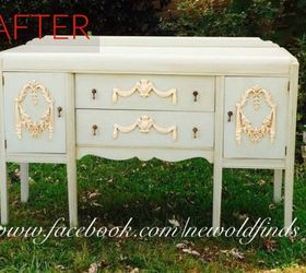 After: A Gorgeous Vintage Buffet