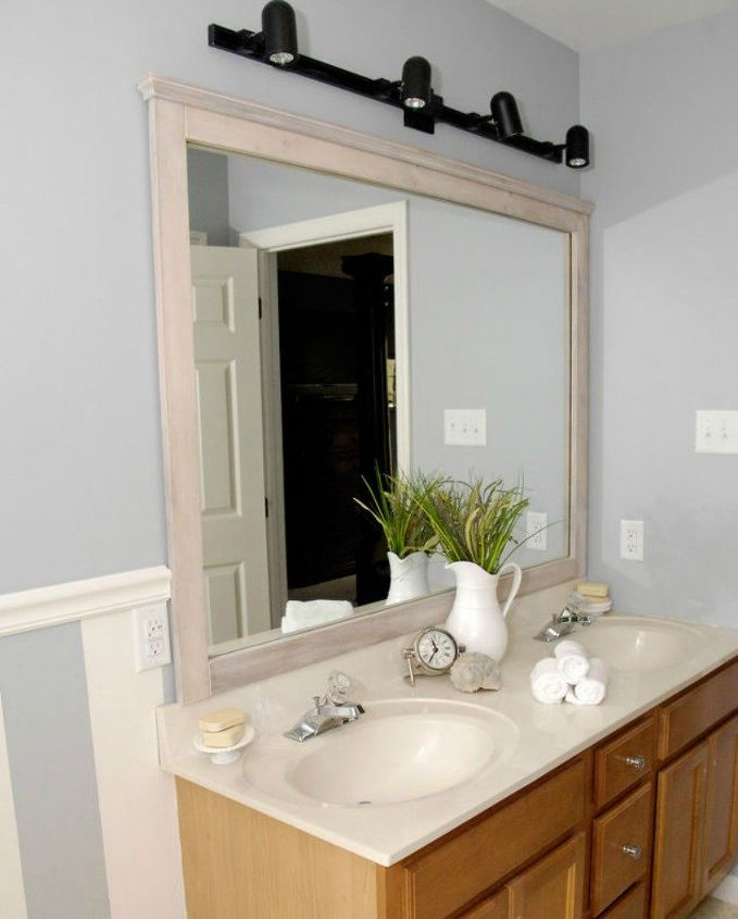 10 stunning ways to transform your bathroom mirror without 14162