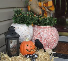 Turning Those Plastic Pumpkins Into A Look Of Stone Made Easy , Concrete  Masonry, ...