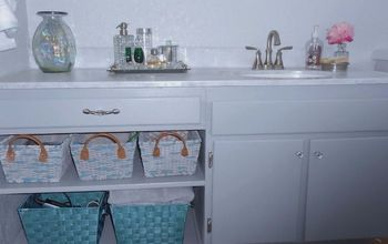 bath vanity makeover, bathroom ideas