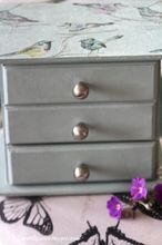 diy french styled jewellery box , chalk paint, decoupage, painting, pets animals