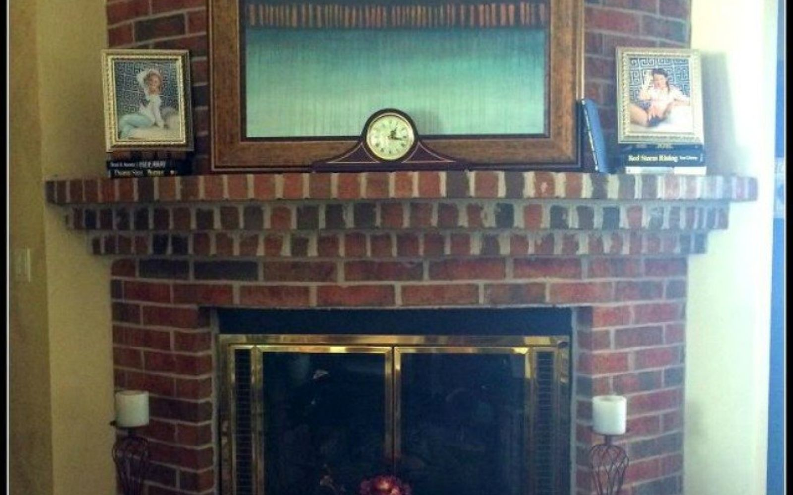 10 Gorgeous Ways To Transform A Brick Fireplace Without Best Way Clean Hearth
