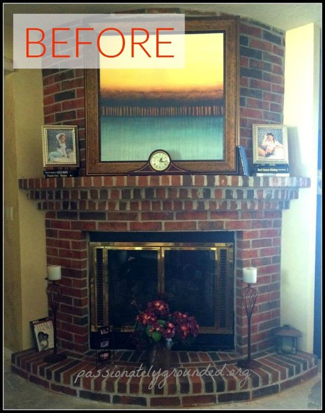 10 Gorgeous Ways To Transform A Brick Fireplace Without Replacing It