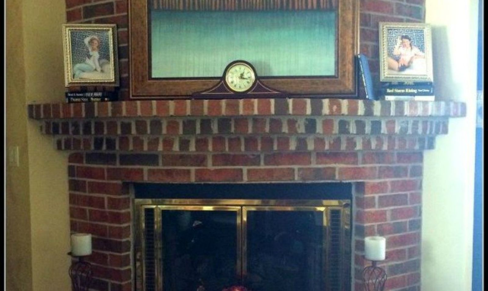 10 gorgeous ways to transform a brick fireplace without replacing