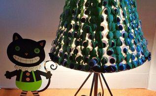spooky googly eye lampshade, crafts, gardening, halloween decorations, lighting, seasonal holiday decor