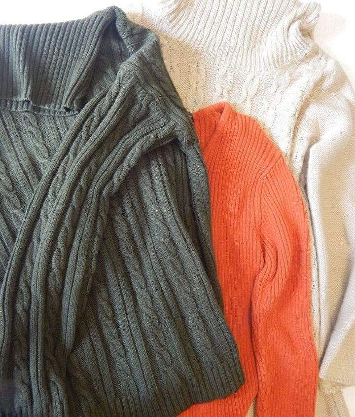 no sew sweater pumpkins, crafts, repurposing upcycling, seasonal holiday decor, storage ideas