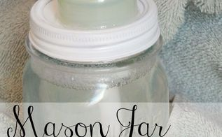 diy mason jar foaming soap dispenser, bathroom ideas, cleaning tips, fireplaces mantels, mason jars, repurposing upcycling