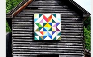 q barn quilt, outdoor living