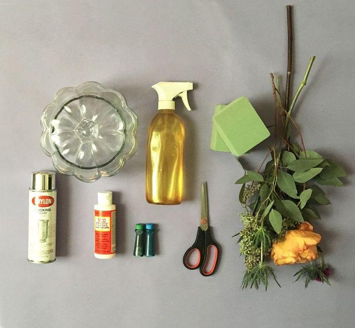 diy mercury glass pumpkin vase, appliances, cleaning tips, decoupage, flowers, gardening, home decor, seasonal holiday decor