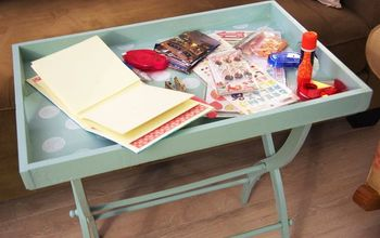 How to Make a Portable Craft Table for Almost Nothing!