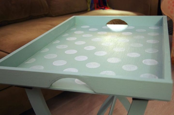how to make a portable craft table for almost nothing , crafts, how to, painted furniture, repurposing upcycling, woodworking projects