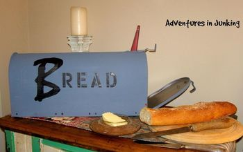 fresh bread delivery, crafts, repurposing upcycling