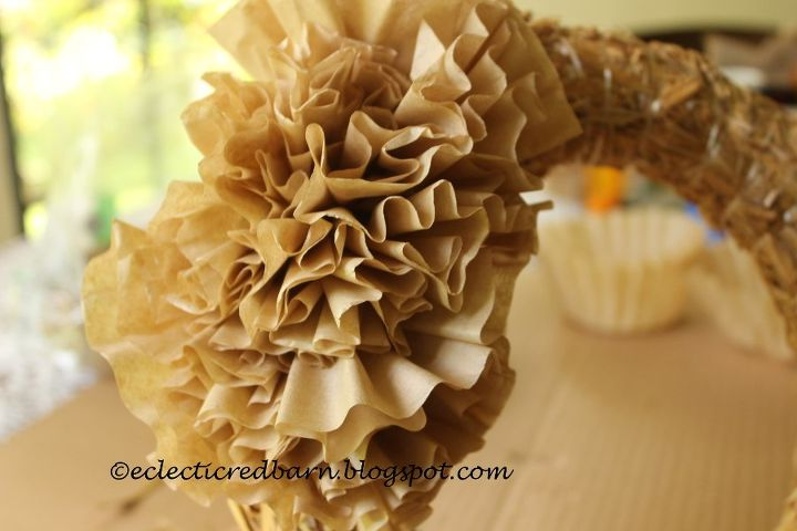 need a fall wreath that is inexpensive to make , crafts, wreaths