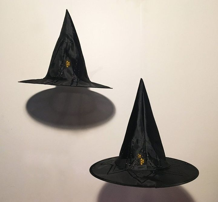 hanging witch s hat luminaries, crafts, halloween decorations, home decor, outdoor living, seasonal holiday decor, wall decor