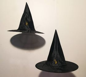 hanging witch s hat luminaries crafts halloween decorations home decor outdoor living