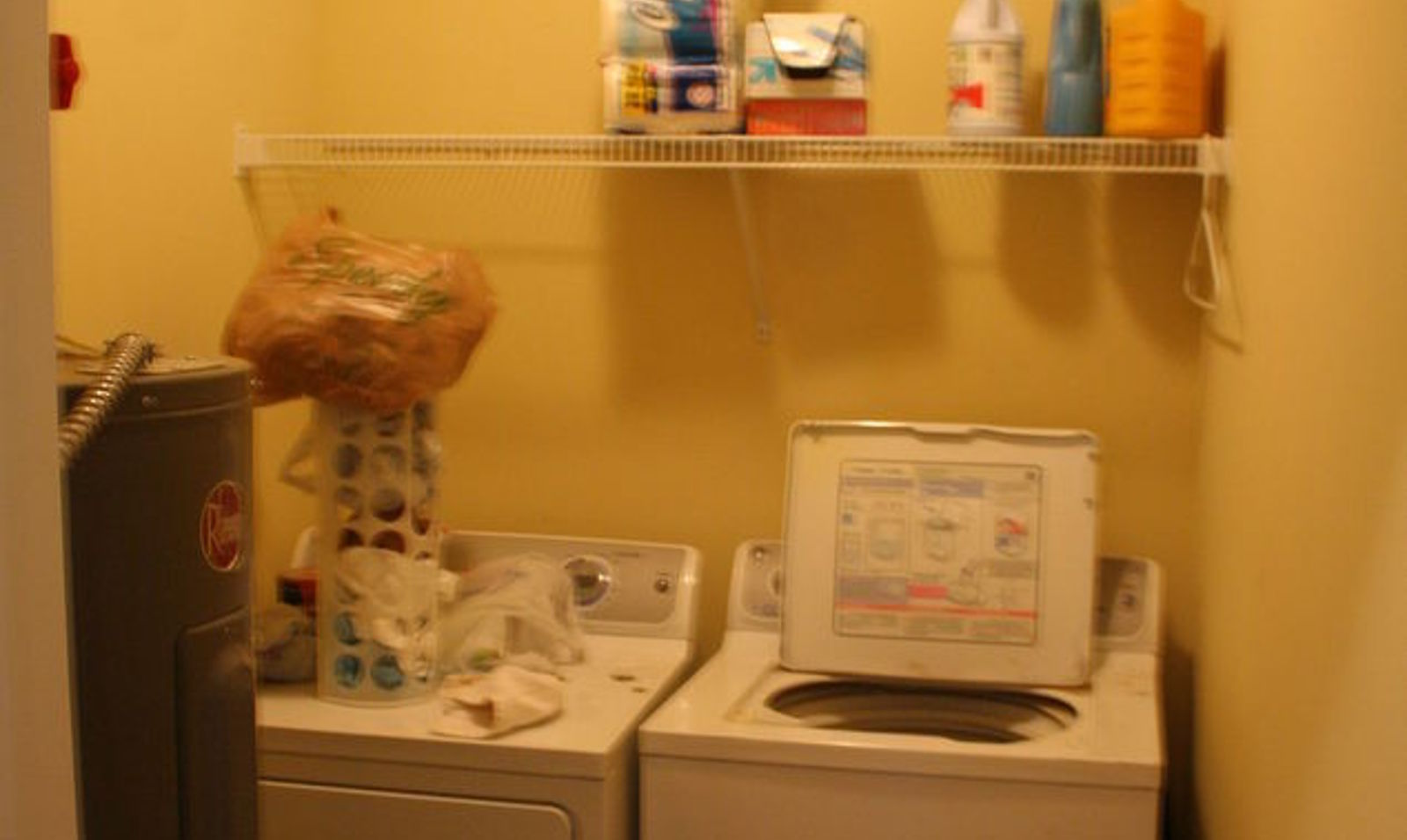 10 space saving hacks for your small laundry room hometalk - Space saving for small bedrooms model ...