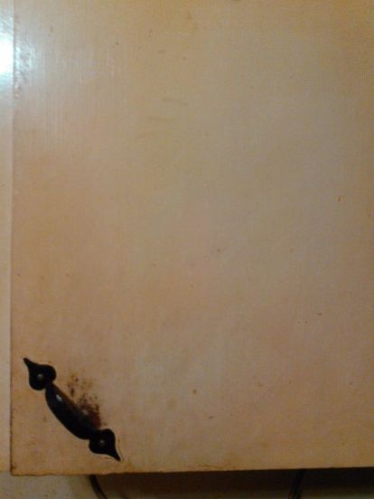 How To Remove Old Paint From Kitchen Cabinets House Built In 1952 I Think The My Still Be There