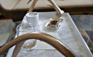 diy antler tray, flooring, pets animals, plumbing, tiling