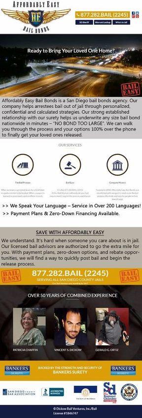 affordablyeasybailbonds infographics